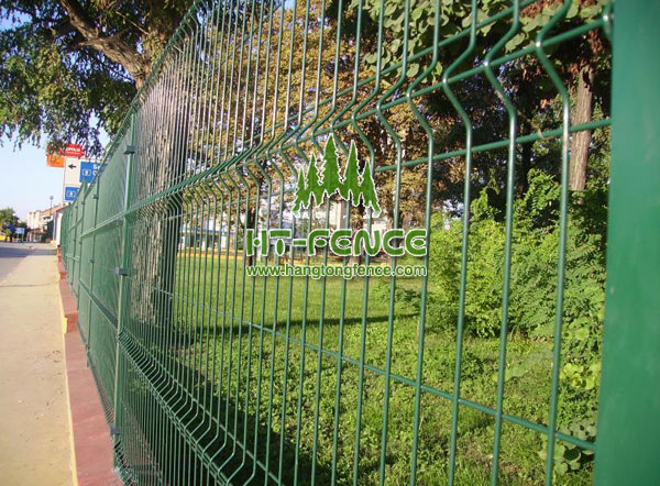 Welded wire panel fence 3d 3d fence panel for sale for 3d fence