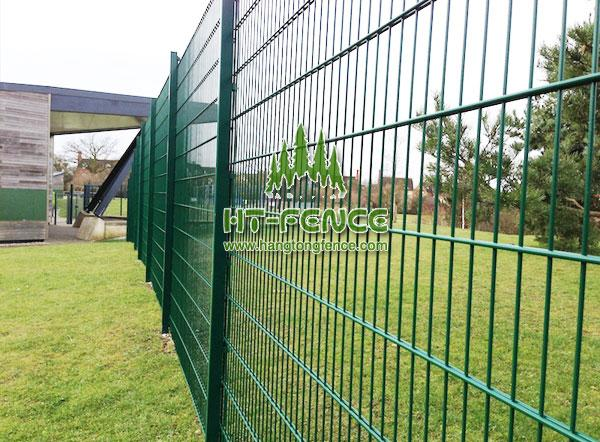 Twin Wire Mesh Fencing Panel(2D)
