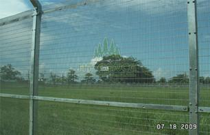 Applications of 358 security fence