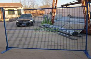 Characteristics of temporary fence