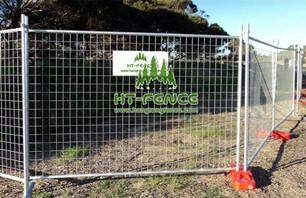 Manufacturing Process of Temporary Fence For Australia