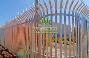 High security palisade fence is very worthy of choice
