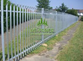 D Pale Palisade Fence - For Your Safety